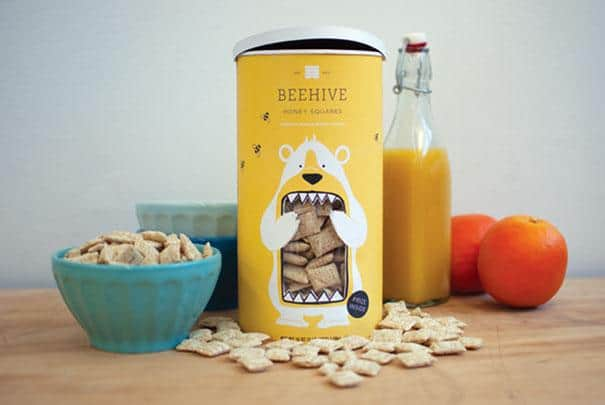дизайна на опаковки beehive