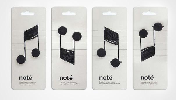 дизайна на опаковки note