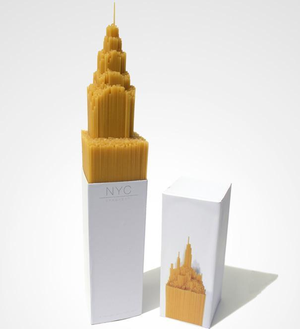 дизайна на опаковки NYC