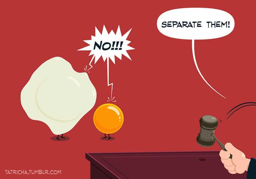 Пр Представете си какво биха казали, предметите от бита, ако можеха да говорят. Това е, което тунизийския илюстратор Ta7rich реши да направя по свой чудат набор от илюстрации. Какво мисли термометъра, когато се постави вътре в нечие тяло? Можете ли да си представите неговият отговор.  иключенията на малките предмети от бита - Muse Creativity студио за дизайн и реклама (20)