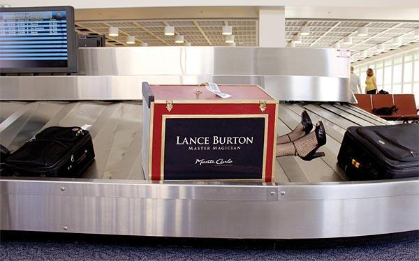 творчески външни реклами багаж