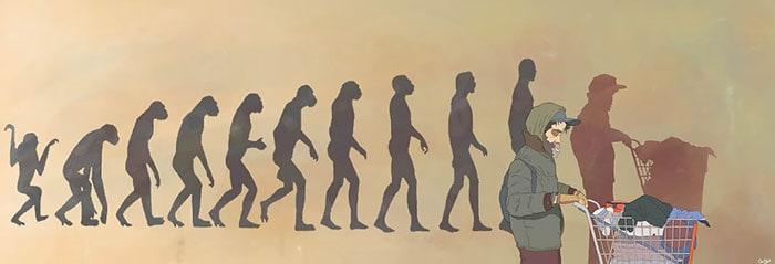 Противоречиви илюстрации от испанския художник, показват грозната страна на обществото ни - Muse Creativity рекламна агенция Бургас (15)