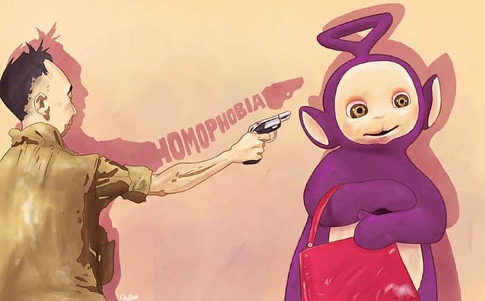 Противоречиви илюстрации от испанския художник, показват грозната страна на обществото ни - Muse Creativity рекламна агенция Бургас (9)