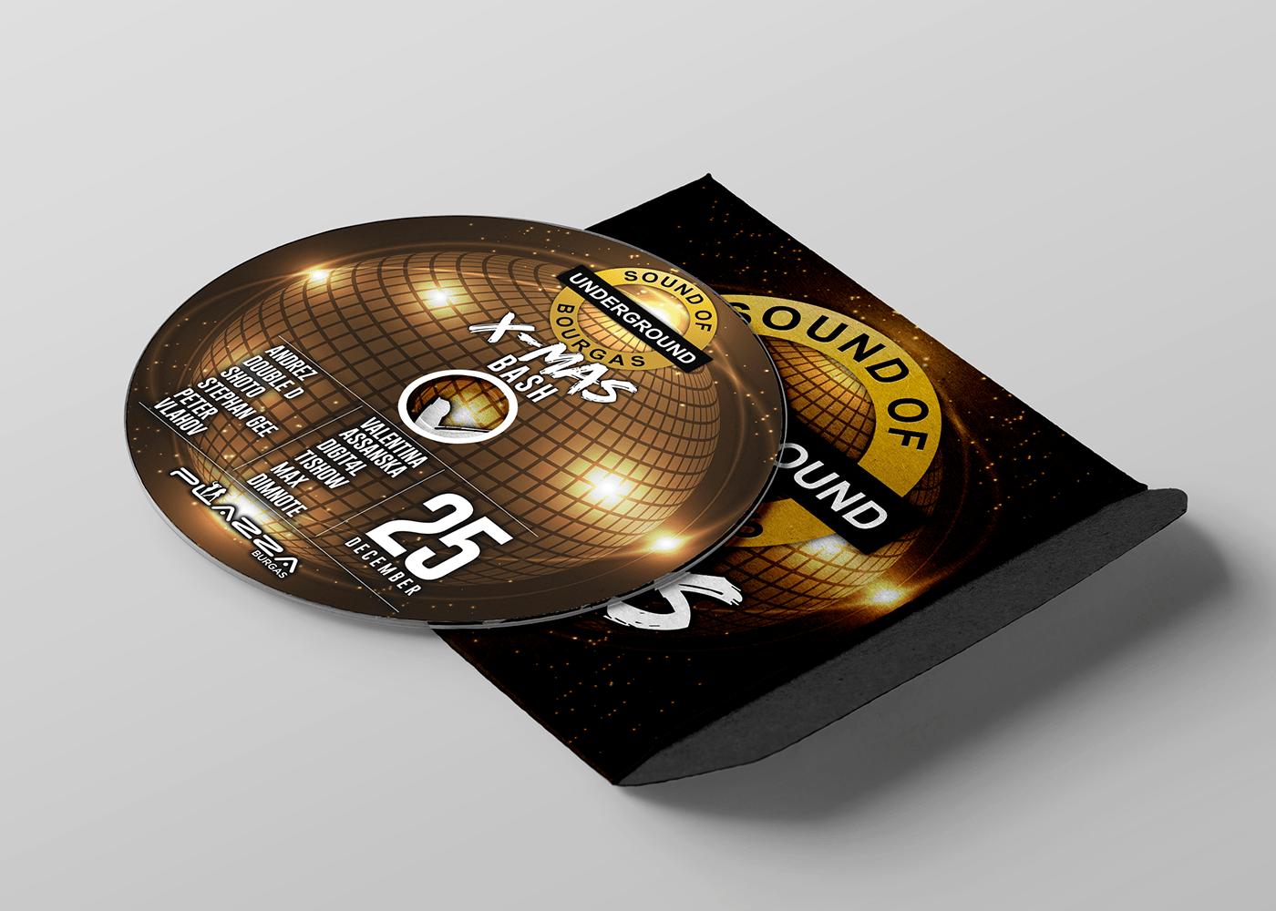 Дизайн на плакат и мърчандайз от Muse Creativity за Underground Sound of Burgas