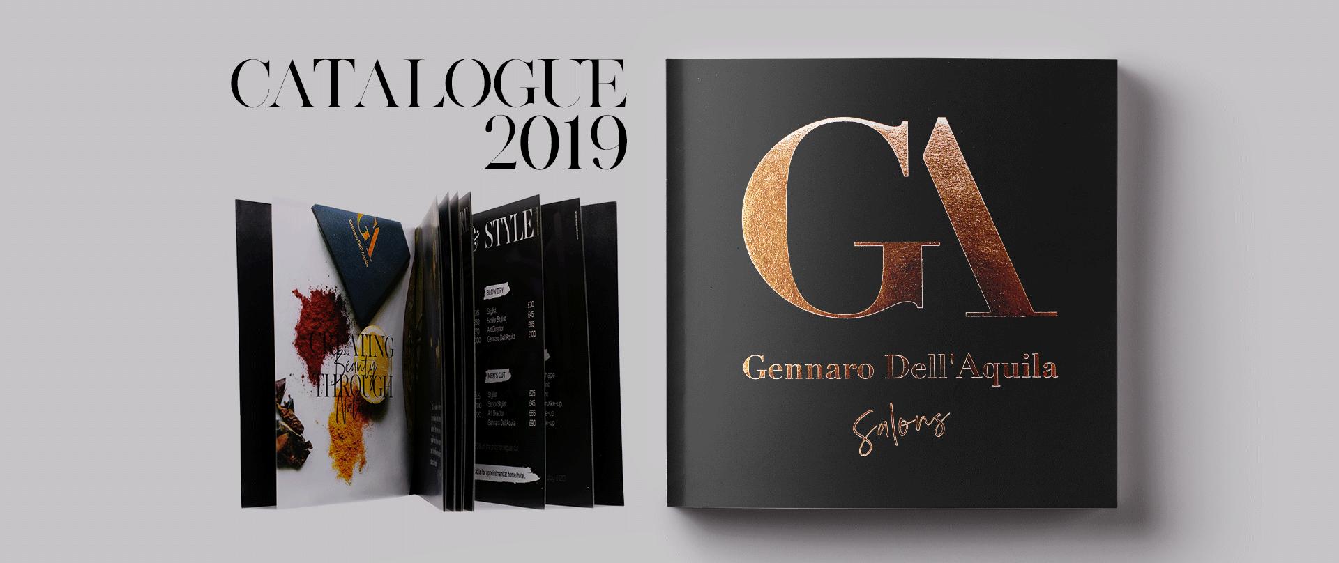 фризьорски салон дизайн, каталог, лого, фолио Muse Creativity