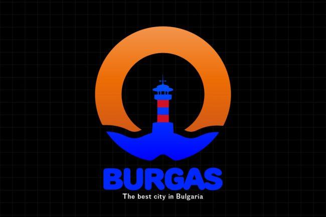 Logo design city лого дизайн бургас